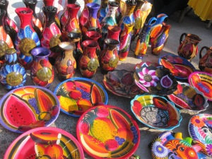 The bright colours of Mexico